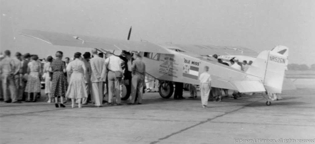 Key Bros Ole Miss airplane 1955 05