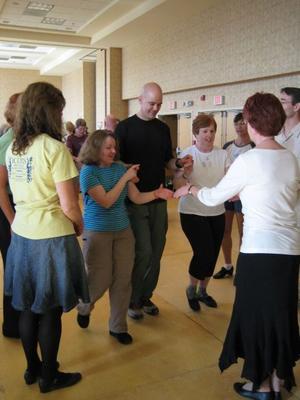 Dancing the Aherlow Set