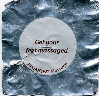 Get your feet massaged