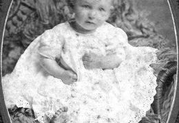 David Dufay McMullan as a baby, abt 1906