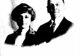 Elmer I Kaiper & wife or daughter from passport application