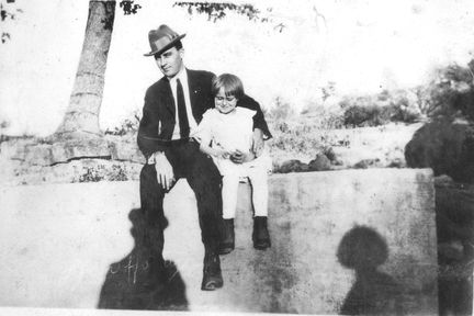 Roger B Hasty and daughter Helen