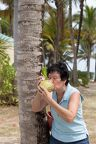 034-Susan with coconut-0372