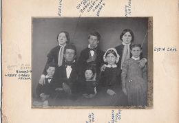 David E Beaty and family 1850 - front