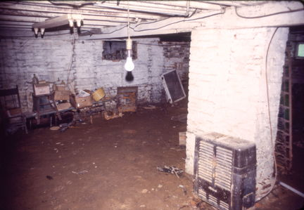 scary cellar, Royal Rd house