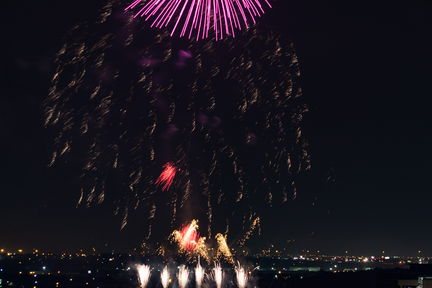 Fireworks July 4th Fort Worth 2016-7362