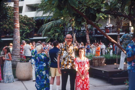 1977 Hawaii - Jack & Susan at Maui Luau-fixed