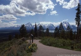 1975 Grand Tetons - ML tending Susan