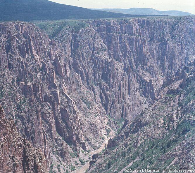 1975 Black Canyon of the Gunnison