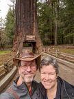 016-Drive Through Tree Park-20190223 Michael and Susan at the Chandelier tree