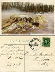Yellowstone Punch Bowl 1908 - to John Wm Hagemeyer Sr from OL McKay