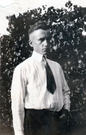 John Burruss McKee as a young man