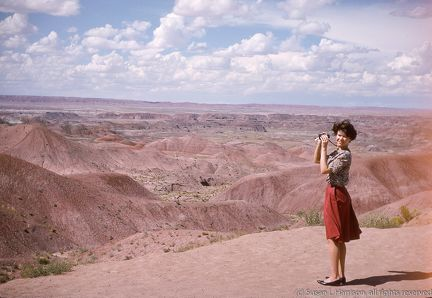 1965 Aug ML at Painted Desert
