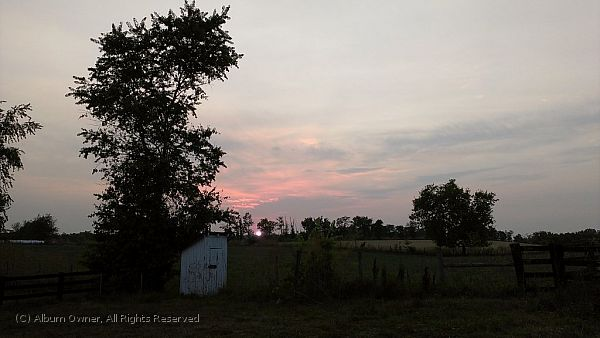 Outhouse Sunset 6-30-2012 8-50-13 PM